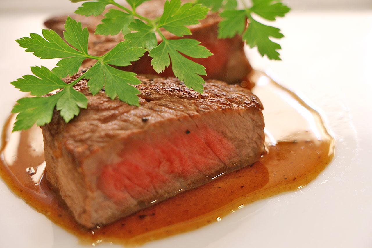 和牛フィレ肉のグリル